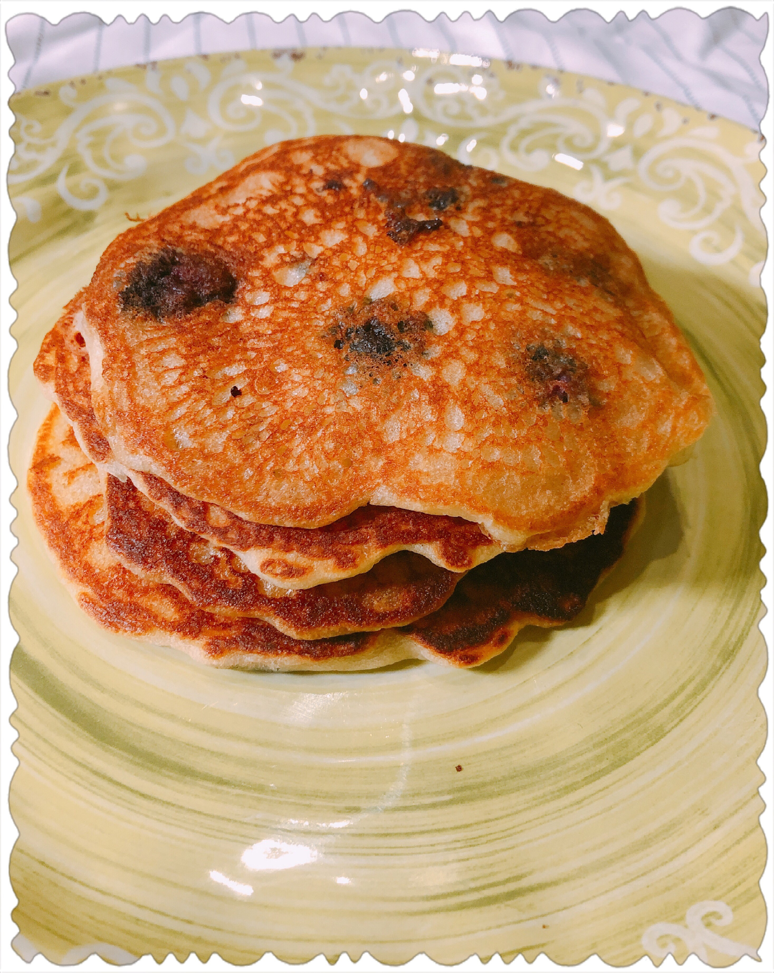 Easy Blueberry Pancakes – Hot off the Griddle