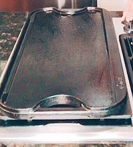 cast iron griddle pancakes